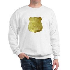 U S Indian Police Sweatshirt