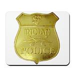 U S Indian Police Mousepad
