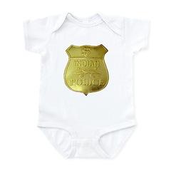 U S Indian Police Infant Bodysuit