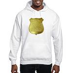 U S Indian Police Hooded Sweatshirt
