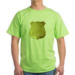 U S Indian Police Green T-Shirt