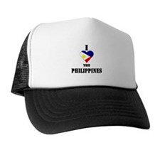 I Love The Philippines Trucker Hat