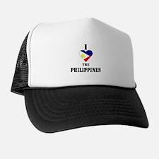 I Love The Philippines Trucker Hat