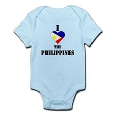 I Love The Philippines Infant Creeper