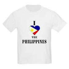 I Love The Philippines Kids T-Shirt