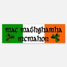 McMahon in Irish and English Bumper Bumper Bumper Sticker
