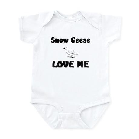Snow Geese Love Me Infant Bodysuit