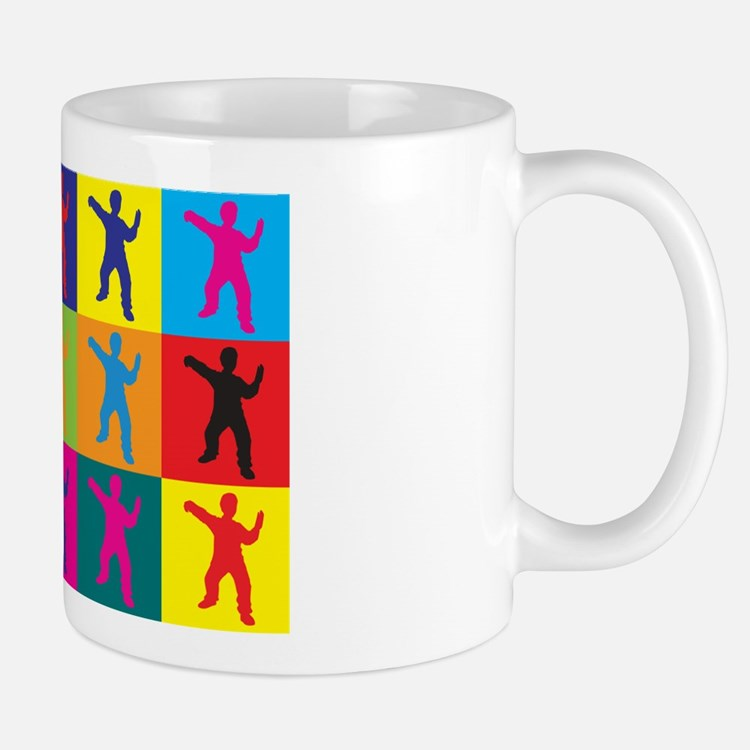 Tai Chi Pop Art Mug