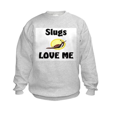 Slugs Love Me Kids Sweatshirt