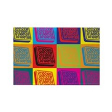 Systems Engineering Pop Art Rectangle Magnet