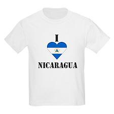 I Love Nicaragua Kids T-Shirt