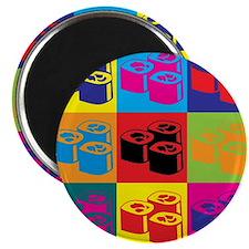 Sushi Pop Art Magnet