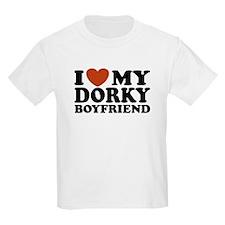I Love My Dorky Boyfriend T-Shirt