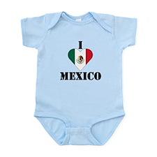 I Love Mexico Infant Creeper