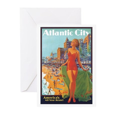 Atlantic City NJ Greeting Cards (Pk of 20)