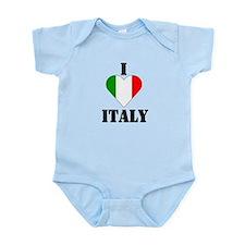 I Love Italy Infant Creeper