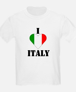 I Love Italy Kids T-Shirt