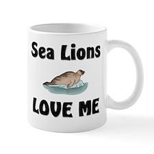 Sea Lions Love Me Mug