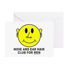 NOSE HAIR/EAR HAIR Greeting Card