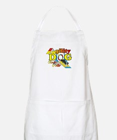 Border Collie Agility BBQ Apron