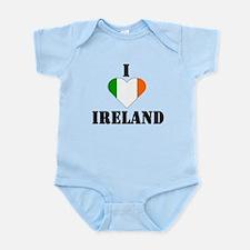 I Love Ireland Infant Creeper