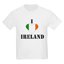 I Love Ireland Kids T-Shirt