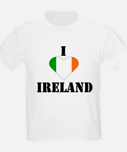 I Love Ireland Kids T-Shirt