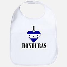 I Love Honduras Bib