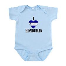 I Love Honduras Infant Creeper