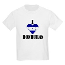 I Love Honduras Kids T-Shirt