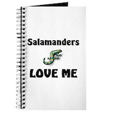 Salamanders Love Me Journal