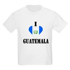I Love Guatemala Kids T-Shirt