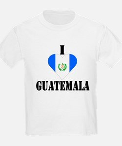 I Love Guatemala Kids T-Shirt