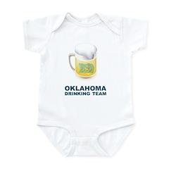 Oklahoma Drinking Team Infant Bodysuit