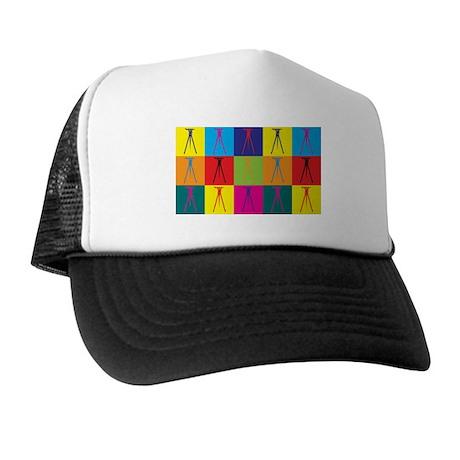 Surveying Pop Art Trucker Hat