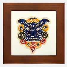 Shisa Bingata Framed Tile