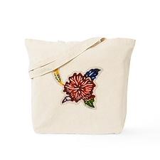 Hibiscus Bingata Tote Bag
