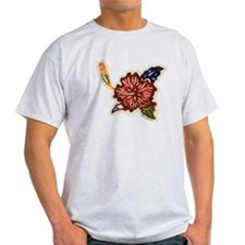 Hibiscus Bingata T-Shirt