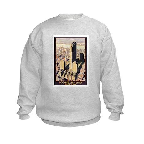 Rockefeller Center NYC Kids Sweatshirt