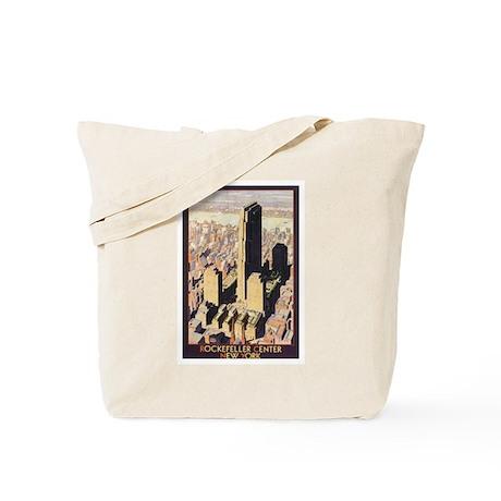 Rockefeller Center NYC Tote Bag