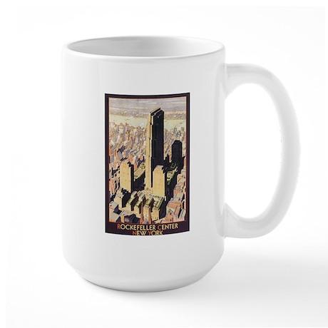Rockefeller Center NYC Large Mug