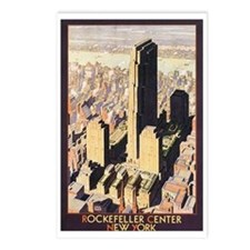 Rockefeller Center NYC Postcards (Package of 8)