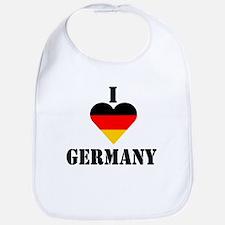 I Love Germany Bib