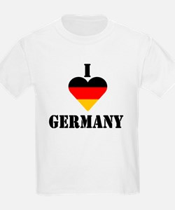 I Love Germany Kids T-Shirt