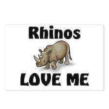 Rhinos Love Me Postcards (Package of 8)
