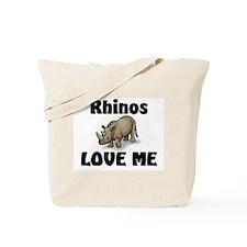 Rhinos Love Me Tote Bag