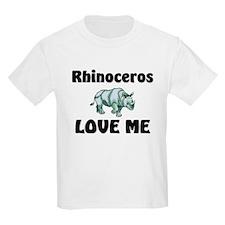 Rhinoceros Love Me T-Shirt