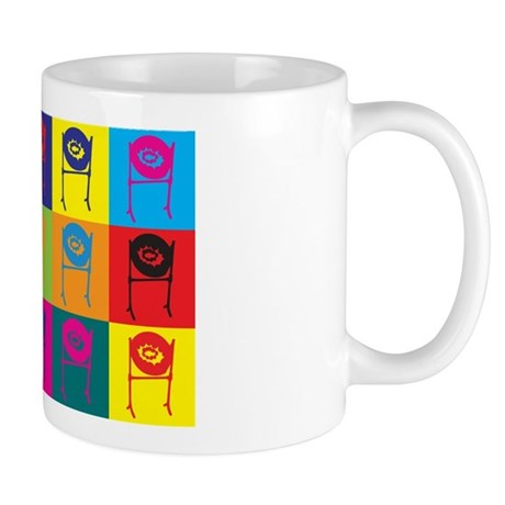 Steel Drum Pop Art Mug