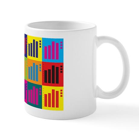 Statistics Pop Art Mug