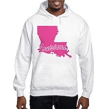 Pink Louisiana Hoodie